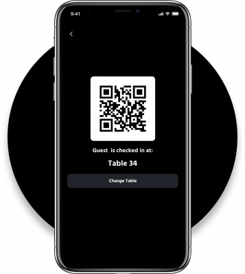 Grid App: Table Check-in via QR-Code